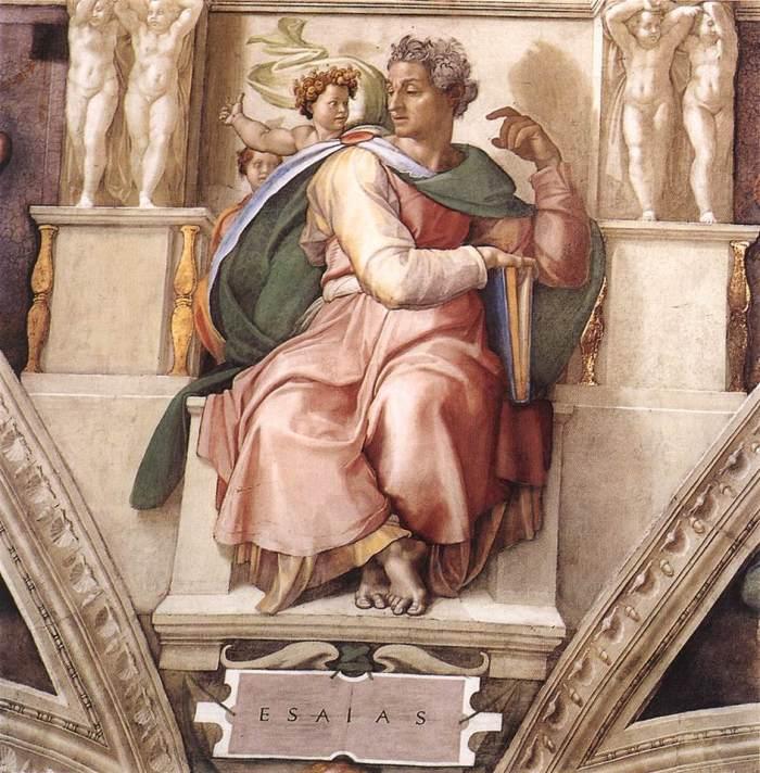 the-prophet-isaiah-1509 michelangelo