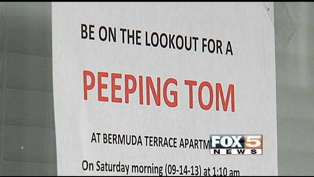 peeping tom flyer